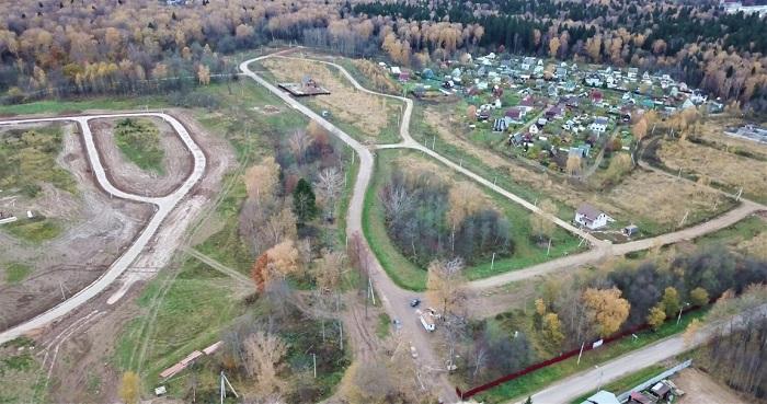 Участок земли в Наро-Фоминском районе - Выгодное вложение средств в коттедж